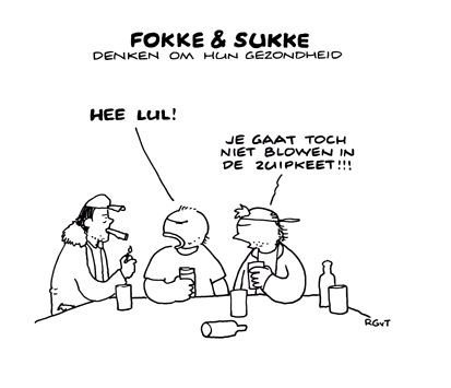 Fokke & Sukke - Cannabis - wiet - Blowen